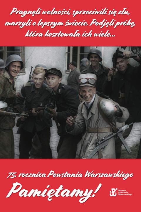 🇵🇱75. rocznica Powstania Warszawskiego 1 sierpnia 1944 r. o godzinie 17:00 Polacy stanęli do…
