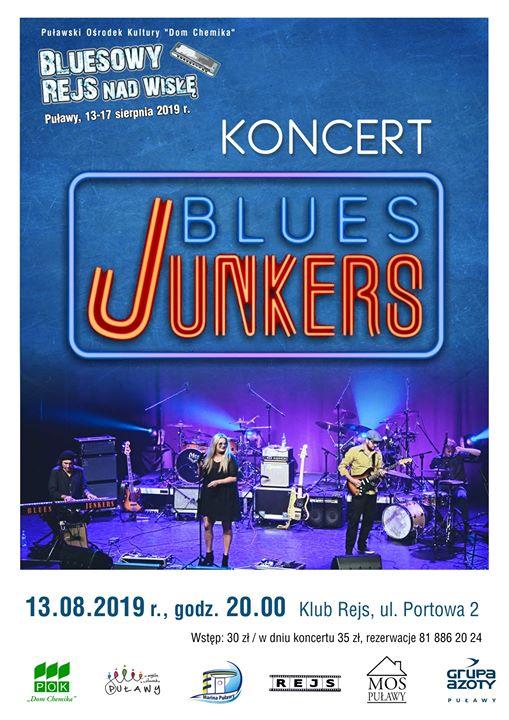Już dzisiaj odbędzie się koncert otwarcia tegorocznej edycji Puławskiego Lata Bluesowego. Muzyczny rejs rozpocznie…