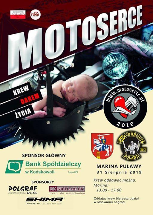 Brrave Knights MC Poland zapraszają 31 sierpnia do Mariny Puławy na kolejną odsłonę akcji…