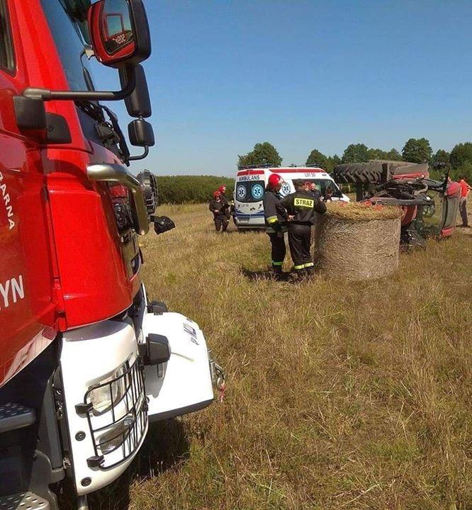 WYPADEK PODCZAS PRAC POLOWYCH W dniu dzisiejszym strażacy z Żyrzyna, Skrudek oraz Ryk, zostali…