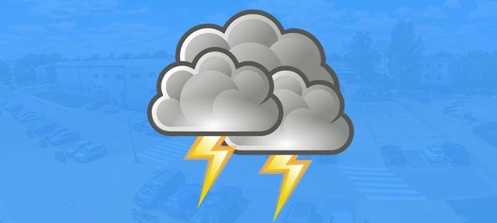 ️Uwaga na burze. IMGW-PIB prognozuje wystąpienie dzisiaj od 14:30 do 24:00 burz z opadami…